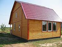 """Каркасный дом 10х8 """"Вишенка"""". Цена за роботу.160кв.м."""