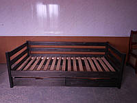 Кровать из дерева 90*190 Нотка