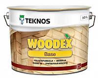 Грунтовка антисептическая TEKNOS WOODEX BASE для древесины 10 л