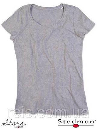 Женская футболка с круглым воротом SST9900 GYH, фото 2