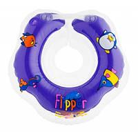 """Музыкальный круг для купания Flipper 0+ с музыкой """"Буль-буль водичка"""""""