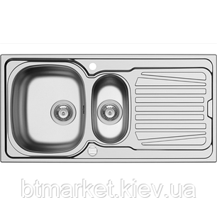 Кухонная мойка PYRAMIS SPARTA (100*50) 1 1/2B 1D Linen (92 mm), фото 2
