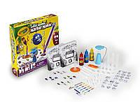 Изготовление ароматичеких фломастеров Crayola набор для творчества Silly Scents Marker Maker