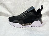 Жіночі кросівки в стилі adidas H. F. 1.4 Primeknit Sneakers Black White, фото 7