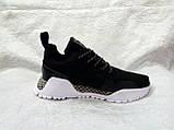 Жіночі кросівки в стилі adidas H. F. 1.4 Primeknit Sneakers Black White, фото 8