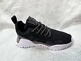 Жіночі кросівки в стилі adidas H. F. 1.4 Primeknit Sneakers Black White, фото 9