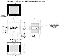Трансформатор импульсный TSD-1654R /PM/