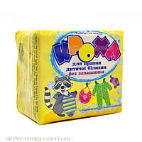 КРОХА мыло  для стирки детского белья  экопак  без ароматизатора 4*125г
