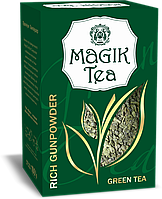 Зелений листовий чай «Magik Tea Rich Gunpowder», 100г