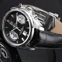 Часы Tag Heuer Carrera calibre 17 Silver, механические