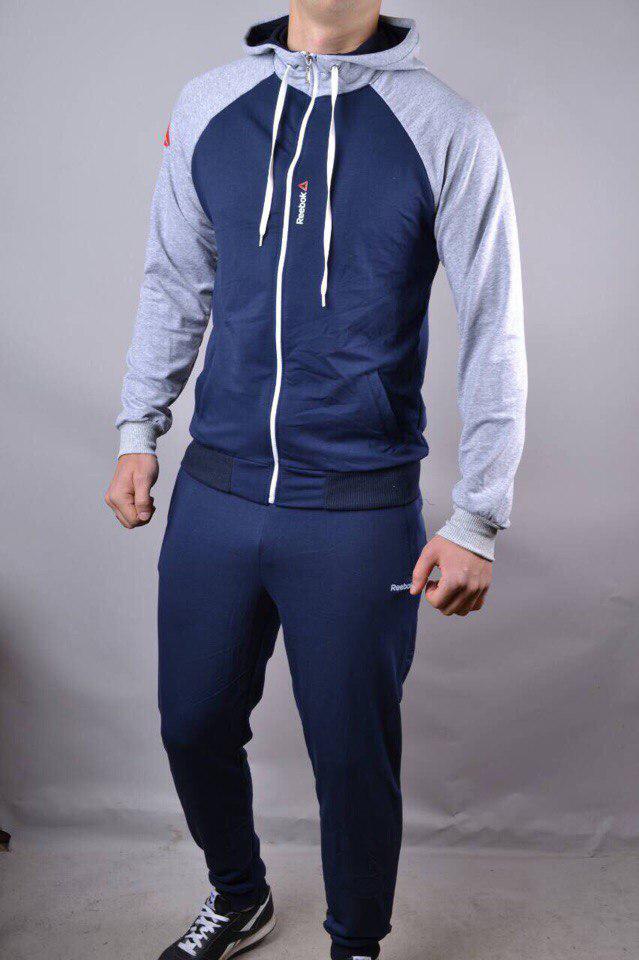 Стильный мужской спортивный костюм -REEBOK- бренд ОПТОМ  продажа ... f47f4b59593