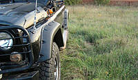UAZ HUNTER ТКУ03 Силовые расширители колёсных арок lapter (Лаптер) , фото 1