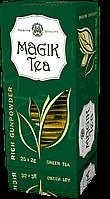 Зелений чай у фільтр-пакетах «Magik Tea Rich Gunpowder», 25ф/п