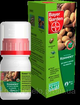 Инсектицид Коннект 112,5 SC 50 мл. Bayer Garden