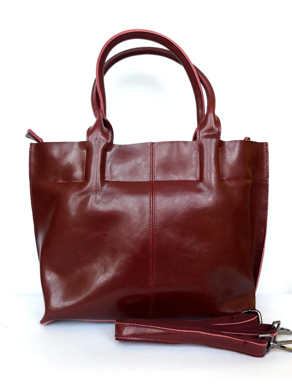 b3f8115deb34 Женская кожаная сумка