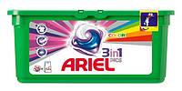 Гелевые капсулы для стирки Ariel 3in1  28шт. в ассортименте (color)