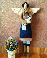 Кукла Тильда с котом, 53 см, Hand-made ручная-робота, Днепр