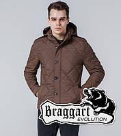 Braggart Evolution 1268   Мужская ветровка коричневая