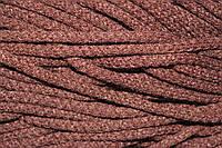 Шнур акрил 6мм.(100м) коричневый (шоколад)
