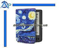 Обложка (чехол) для электронной книги PocketBook 614/615/624/625/626/Touch Lux 3 с графикой Зоряне небо