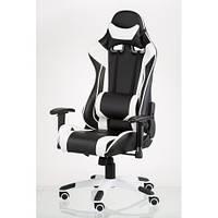 Кресло Special4You ExtremeRace black/white (E4770), фото 1
