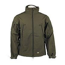 Тактична куртка Soft Shell (оливковий), фото 3