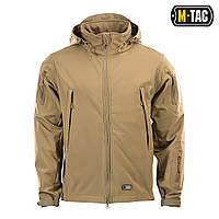 Тактическая куртка Soft Shell (коричневый)