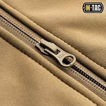 Тактична куртка Soft Shell (коричневий), фото 3