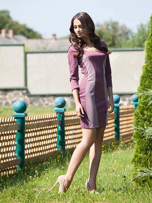 Облегающее женское платье (S-XL два цвета)