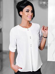 Стильна молодіжна біла блузка Levis (XS, S, M, L, XL)