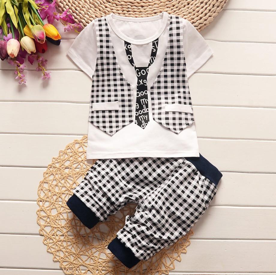 Комплект для мальчика летний шорты и футболка