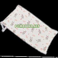 Горка в детскую ванночку для купания новорожденного махровая (трикотажная) Польша 0058 Бежевый 1