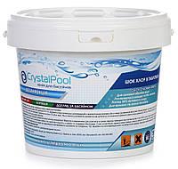 Химия для бассейнов шок хлор Crystal Pool Quick chlorine tablets - 5 кг (20 гр.)
