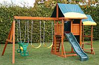 Деревянная площадка для детей