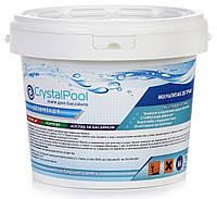 Химия для бассейнов Мультитаб - Crystal Pool MultiTab 4-in-1 Large (табл.200гр) - 5кг