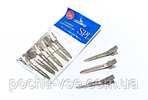 Проборные заколки металлические 5.5 см SPL 940013 (комплект 6 шт)