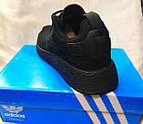 Чоловічі кросівки Adidas NMd r2 pk чорні, фото 4