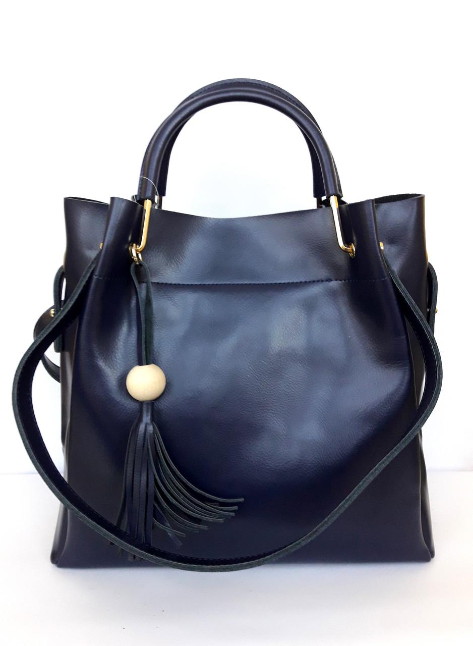 c3e7c4bc739b Женская кожаная сумка