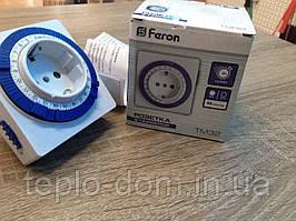 Розетка  механическая Feron TM32 ( с таймером )