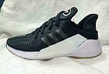 Чоловічі кросівки Adidas Climacool ADV чорні на білій підошві, фото 3