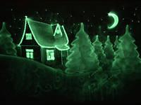 Шоу-номер «Светопись», световая картина