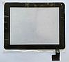 Оригинальный тачскрин / сенсор (сенсорное стекло) для Digma iDsD8 (черный цвет, самоклейка)