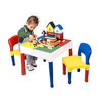 Игровой стол для LEGO 5 в 1, квадратный