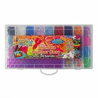 Loom Оригінальний набір для плетіння кольоровими гумками,5000 гумок.Пластикова упаковка, уцiнка