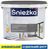 ФАРБА ҐРУНТУВАЛЬНА ŚNIEŻKA 14 кг