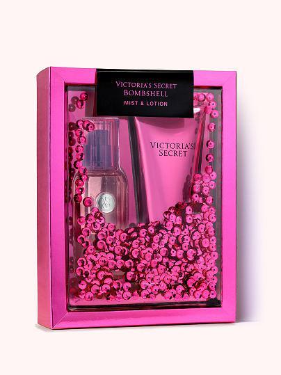 Набор Victoria's Secret Bombshell мист парфюмированный спрей и лосьон