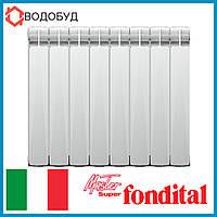 РАДИАТОР АЛЮМИНИЕВЫЙ (СЕКЦИОННЫЙ) FONDITAL MASTER S5 100x500
