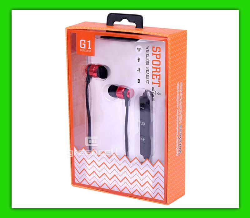 Bluetooth наушники MG G1 Sport
