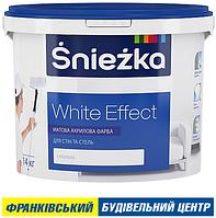 ФАРБА ŚNIEŻKA WHITE EFFECT 20 кг