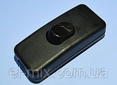 Выключатель для бра KCD5-303  1-группа ON-OFF Daier, черный